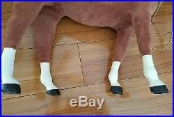American Girl doll Felicity in Pleasant Company horseriding outfit horse Penny