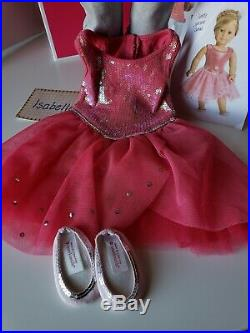 American Girl doll Isabelle in box with outfits and accessories Lot