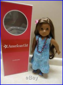 American Girl doll Kanani in box with full meet outfit