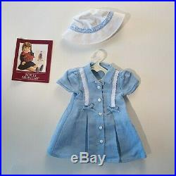 American Girl doll Molly's Route 66 Dress and Hat outfit