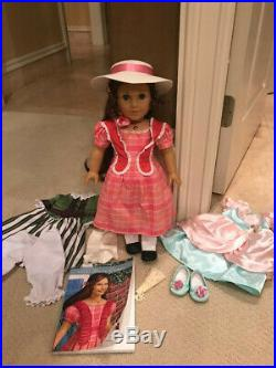 American Girl historical Marie-Grace 18 Doll withBook and outfits set-Retired
