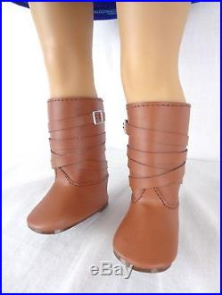American Girl of Year Doll Saige with Book Outfit Boots Earrings 18 Retired GOTY