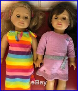 American Girls Lot Of 3 Dolls, Grace, Lea And Blonde Me Doll + Addtl outfits