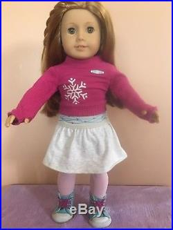 American girl Doll Mia 2008 Goty Used With Meet Outfit