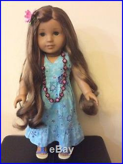 American girl KANANI GOTY 2011 In Meet Outfit