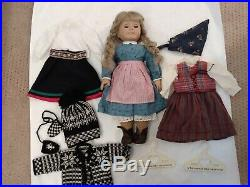 American girl Kirsten doll and two outfits