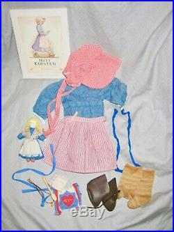 American girl Kirsten doll outfits & accessories pleasant company