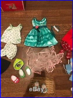 American girl Maryellen doll 18 inch with Box book & outfits AG Mary Ellen