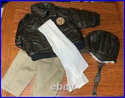 American girl Molly's Aviator Outfit