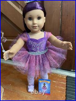 American girl TrulyMe #86 in Sugar Plum Fairy 2020 Nutcracker outfit SOLD OUT