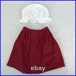 American girl doll Felicity 1991 Felicity's School outfit complete