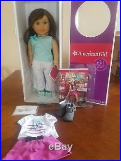 American girl doll Grace NIB with extra outfit