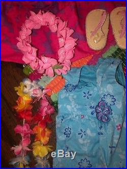 American girl doll kanani doll with outfits