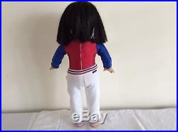 American girl retired Ivy Ling Asian black hair brown eyes with several outfits