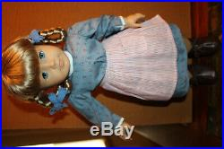 Anerican Girl Doll Kirsten 18 in 1854 Welcome Outfit Pigtails Retired EUC