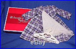 Authentic American Girl Kirsten Plaid Promise Outfit Retired