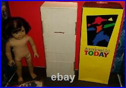 Authentic American Girl Of The Year #1 Lindsey Doll + Meet Outfit/book/box(715)