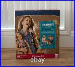 BRAND NEW AMERICAN GIRL TENNEY GRANT Doll Book Spotlight Outfit Guitar