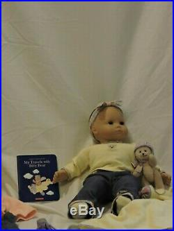 Bitty Baby set. Includes outfits and bitty bear. Comes with original clothes