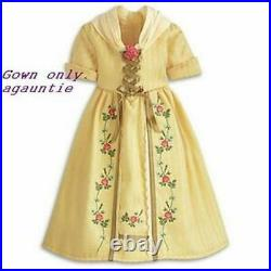 Brand New American Girl Felicity Tea Lesson Dress GOWN ONLY Outfit Elizabeth