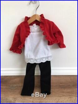 CYO American Girl Doll Red Hair, Freckles, Hazel Eyes, Pierced Ears + 2 Outfits