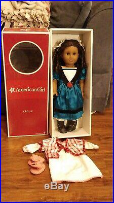 Cecile american girl doll with extra outfit, original box