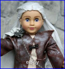 Custom American Girl Doll DAENERYS OOAK from Game of Thrones Face Up Outfit