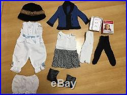 EUC American Girl Doll Rebecca withbox and many accessories and outfits