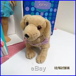 EUC American Girl Kailey Huge Collection Outfits Dog Accessories Too Pretty Doll