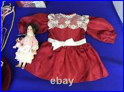 Early American Girl Doll Samantha + Clothing Lot Outfits