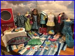 Fantastic Bundle Lot Euc American Girl 18 Kanani Akina, Over 8 Outfits & More