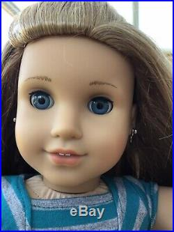 GORGEOUS RARE AMERICAN GIRL DOLL McKENNA GOTY IN MEET OUTFIT MINT