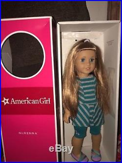 GOTY 2012 McKenna American Girl Doll With Extra Outfits, Used