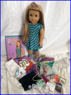 GOTY 2012 McKenna American Girl Doll With Extra Outfits and Accessories, Used