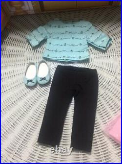 GRACE American Girl 18 Doll & 2 Outfits LOT Opening Baking GOTY 2015
