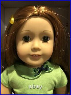 Gently Used American Girl Doll Wearing School Days Outfit Red Hair Green Eyes