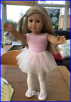 Gorgeous American Girl Doll Isabelle In Ballet Outfit With Tutu