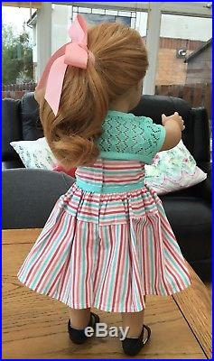 Gorgeous American Girl Doll Maryellen In Full Meet Outfit With Book