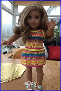 Gorgeous Popular American Girl Doll Lea Goty In Meet Outfit