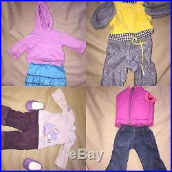 HUGE LOT AMERICAN GIRL Doll (2) Dolls, Outfits, Accessories