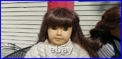 HUGE Lot of Two Samantha American Girl Dolls with 13 outfits
