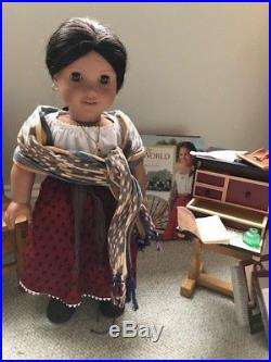 Huge American Girl Josefina Lot Doll Table & Chairs, Desk, Outfits & Accessories