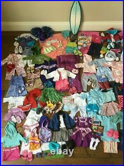 Huge Lot! American Girl Doll Clothes Shoes Outfits Sets Accessories 170 pieces