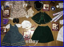 Huge Lot American Girl Doll Felicity with Outfits & Accessories vintage