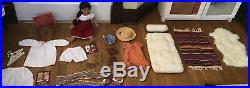 Huge Lot American Girl Doll Josefina with Outfits & Accessories vintage