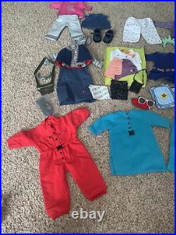 Huge Lot American Girl Pleasant Company Doll Clothes Outfits Shoes & Accessories