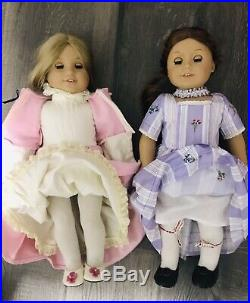 Huge Lot Of American Girl Doll Felicity & Elizabeth Dolls Outfits Riding Retired