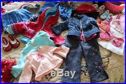 Huge Lot of Genuine American Girl Doll Outfits Clothes Accessories Shoes