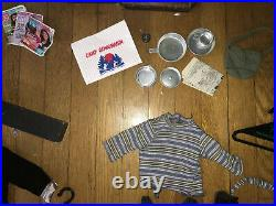 Huge lot of American Girl Doll outfit accessories vintage retired recital