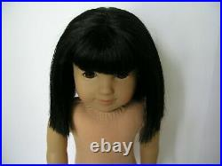 IVY 18 American Girl DOLL ONLY Asian Black Hair Brown Eyes NUDE No Meet Outfit